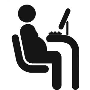 Duduk terlalu lama