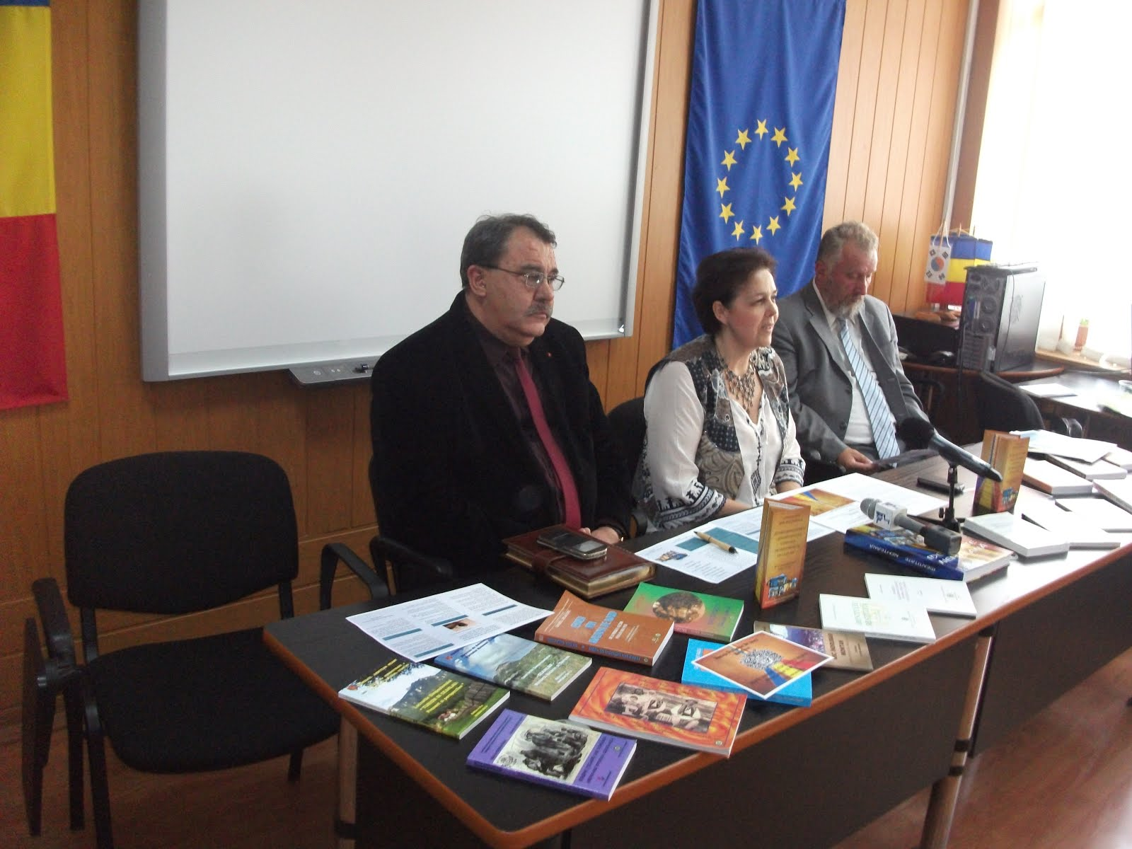 Aspecte de la conferinţa de presă de lansare a proiectului Memorandum-ul de la Neamţ, 25.06.2015...