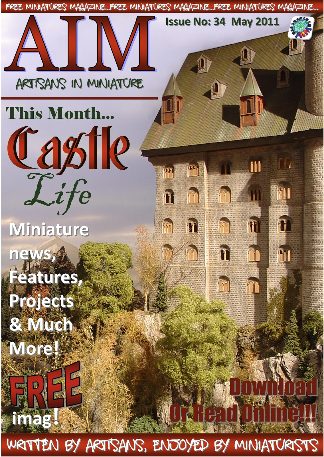 Petite Properties Ltd: AIM imag - FREE Online Dolls House Magazine!!
