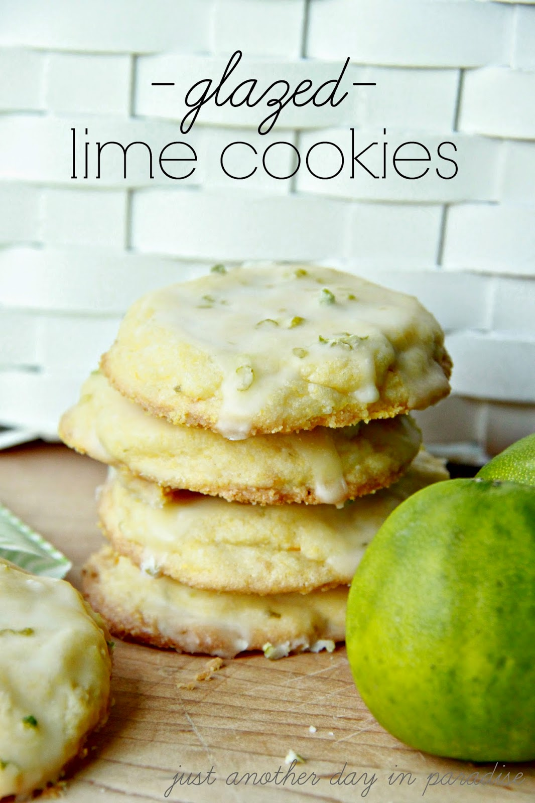 if these cookies were people these glazed lime cookies would be the ...