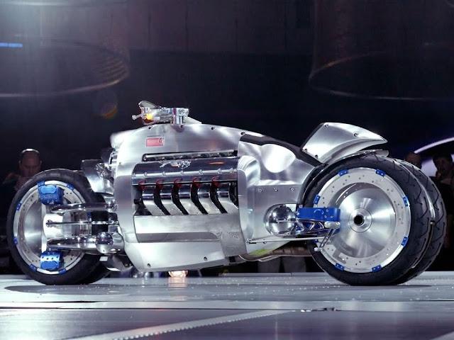 Foto Sepeda Motor Konsep Dodge Tomahawk 06