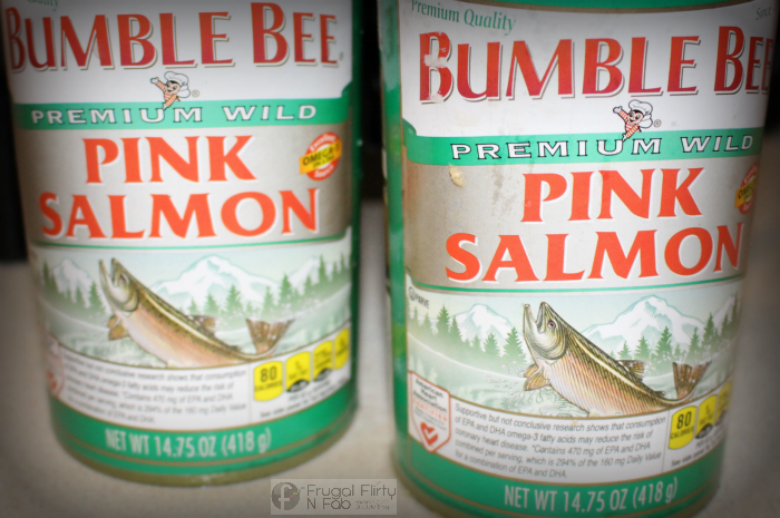 Ingredients necessary to make Sauteed Salmon