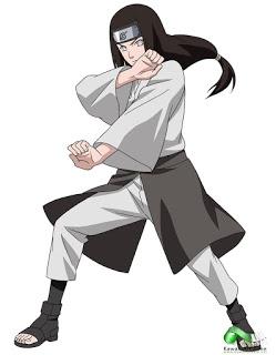 Neji de mayor edad, en el manga y anime