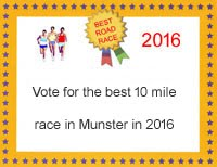 Poll for the best 10 mile race in Munster in 2016