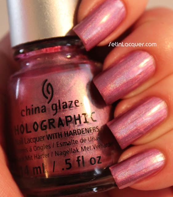 China Glaze Hologlam - Astro-Hot