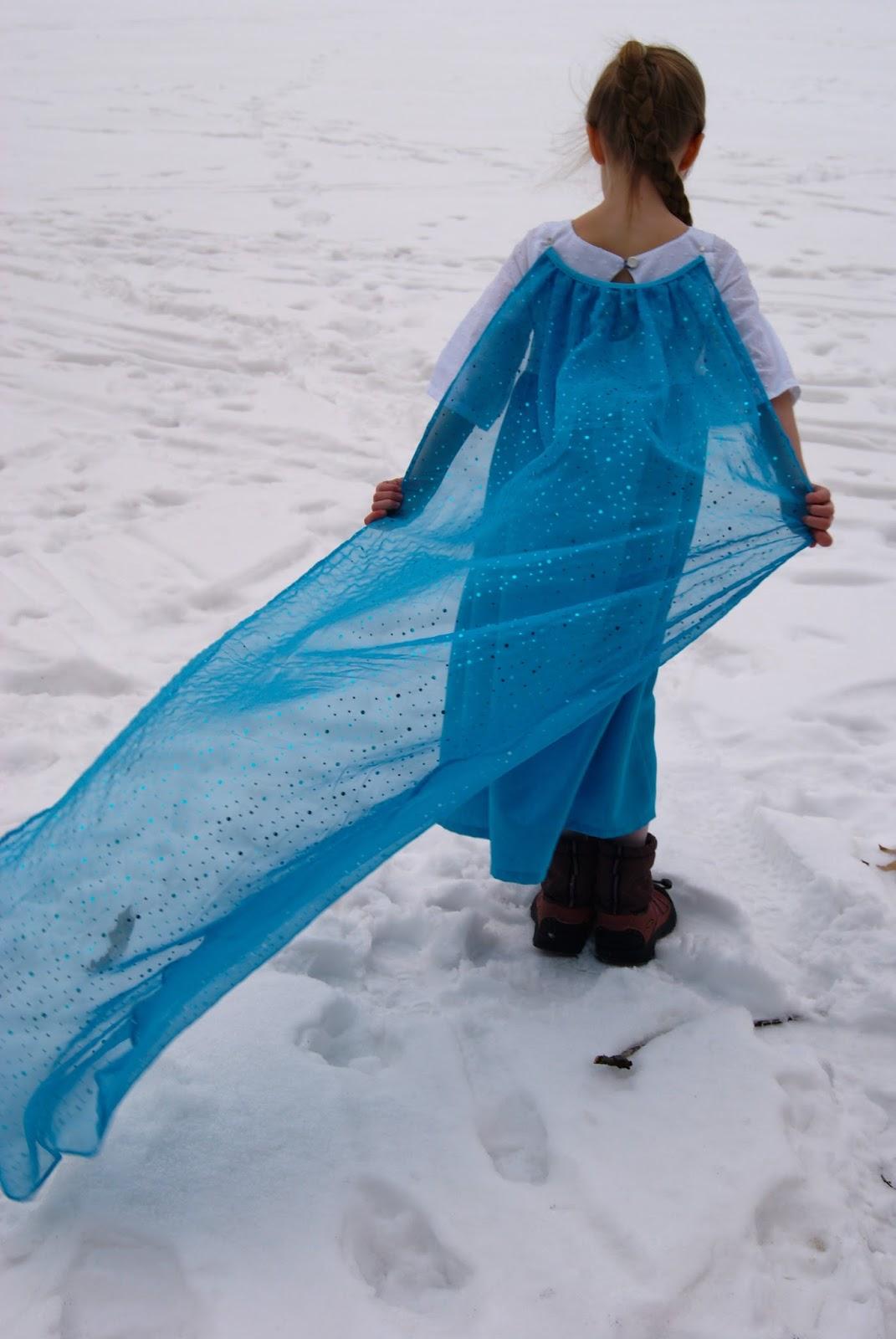 Elsa dress by nestfullofeggs