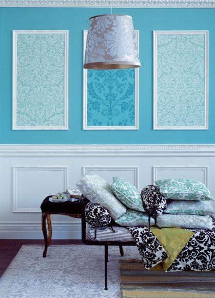 Arquitetando ideias 9 ideias para usar molduras de forma criativa - Molduras para paredes interiores ...