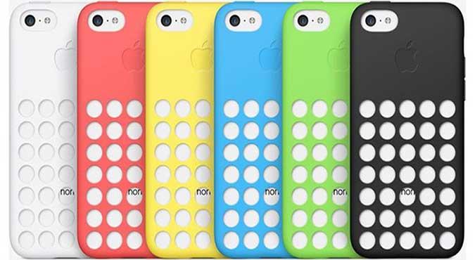 Casing Resmi iPhone 5C dan 5S