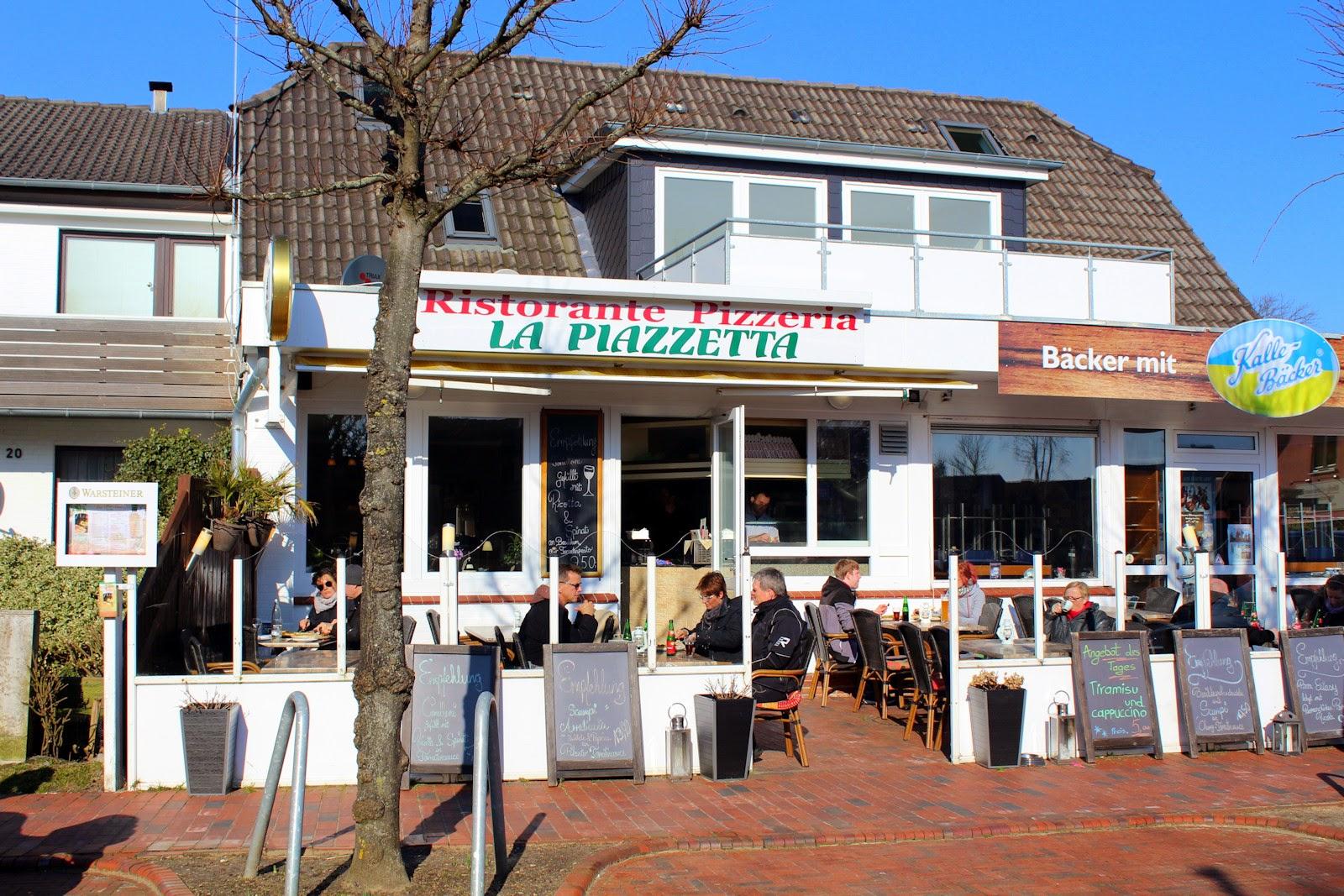 St. Peter-Ording Frühlingsausflug: Restaurant La Piazzetta