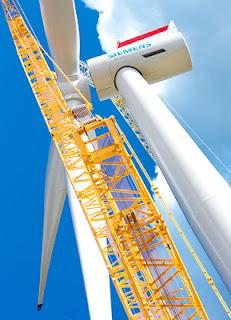 turbina eolica siemens