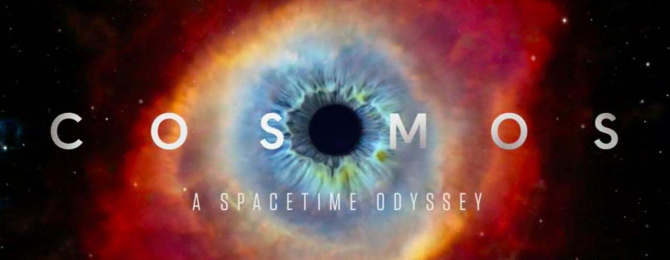 Inicio de la serie Cosmos: Una odisea espacio-temporal