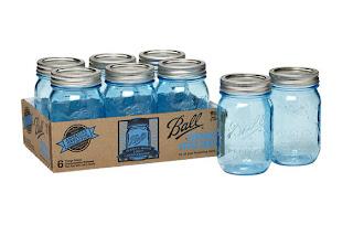 Ball Heritage Collection Pint Jars Blue mason jars