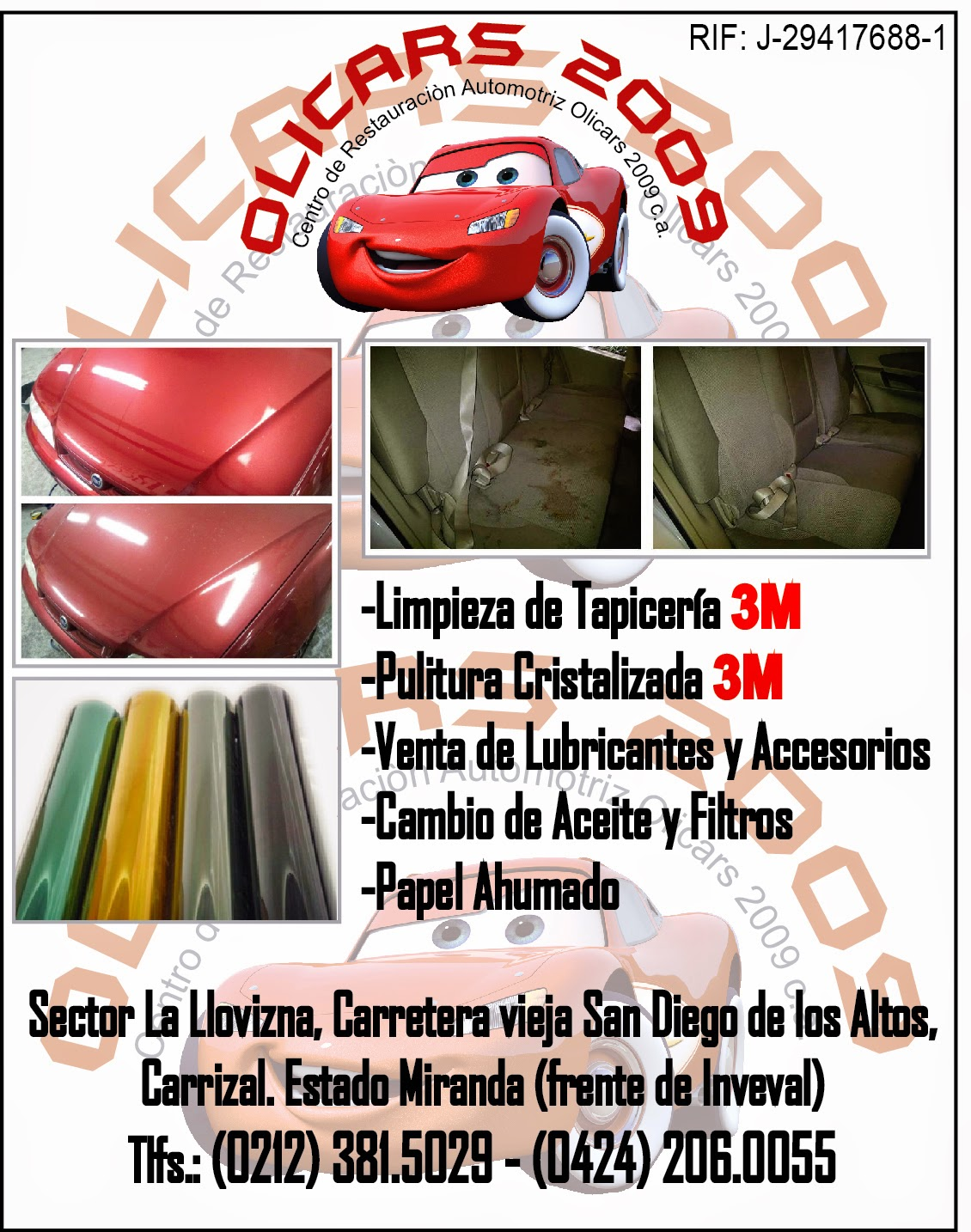 CENTRO DE RESTAURACION AUTOMOTRIZ OLICARS 2009 C.A. en Paginas Amarillas tu guia Comercial