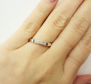 FURRER JACOT 名古屋 フラージャコー チョコレート 指輪 結婚指輪 婚約指輪 ゴールド プラチナ 重ね付け 鍛造