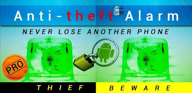 Anti theft alarm Pro v1.0