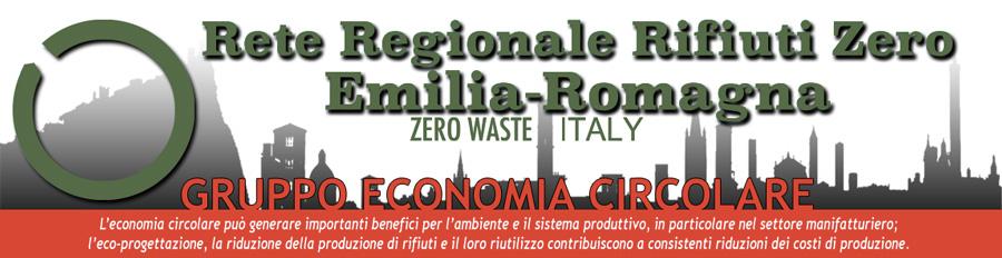 Rete Rifiuti Zero Emilia Romagna Gruppo Economia Circolare