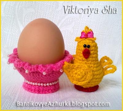 вязанная-подставка-для-яйца-на-Пасху_цыпленок