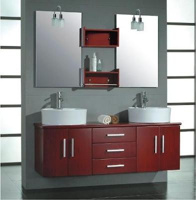 Muebles modernos para el ba o con espejos for Espejos banos modernos