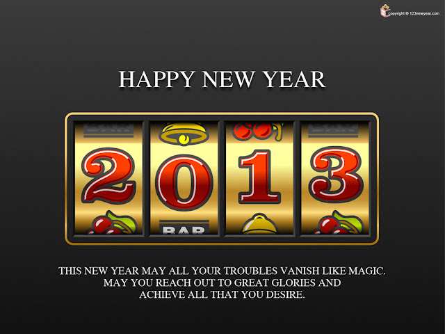 Best Happy New Year Wallpapers 2013