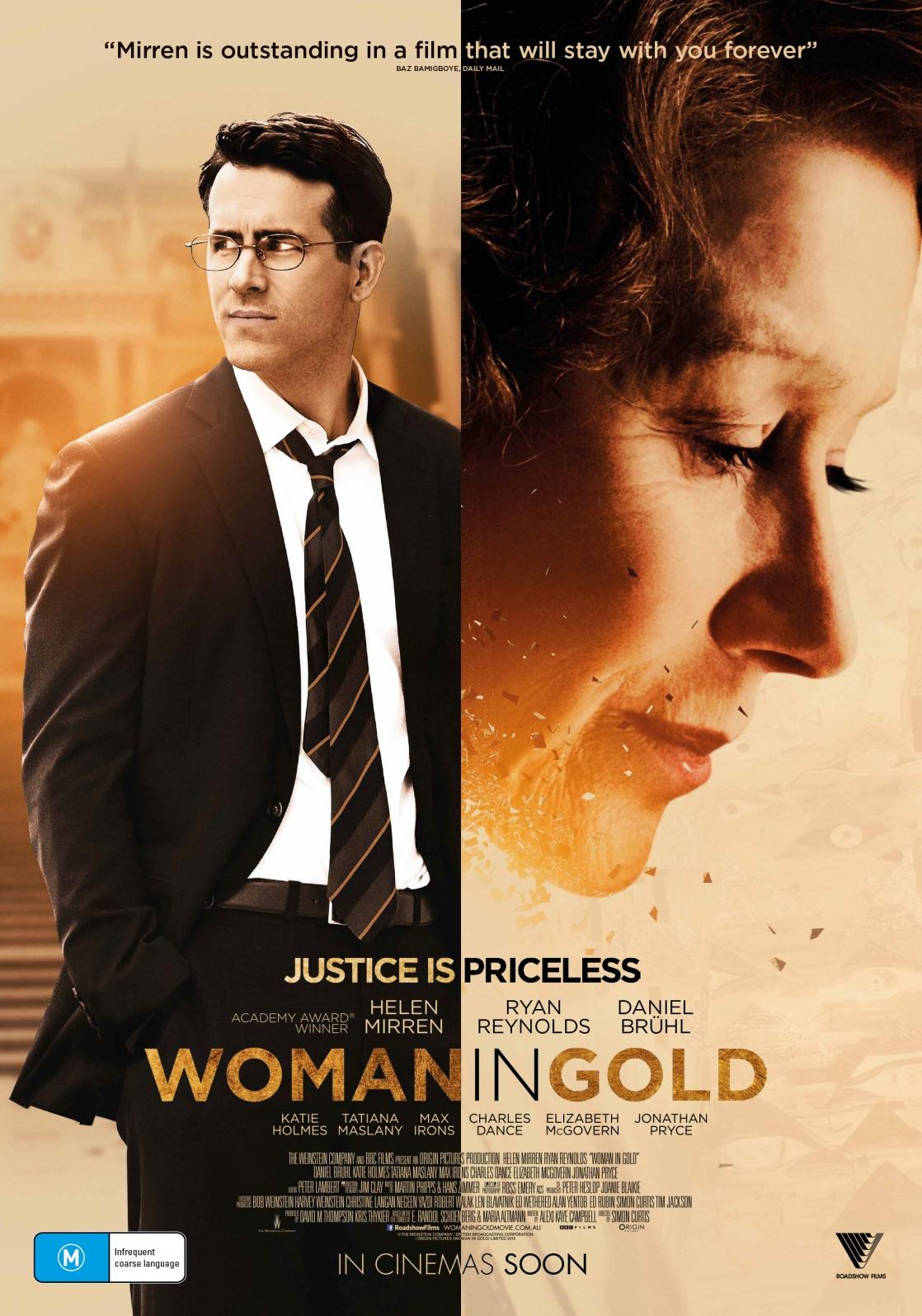 Baixar Filme A Dama Dourada (Dual Audio)