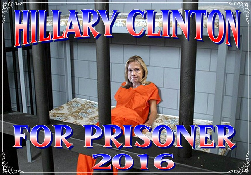 hillary clinton in orange prison jumpsuit - Google Search