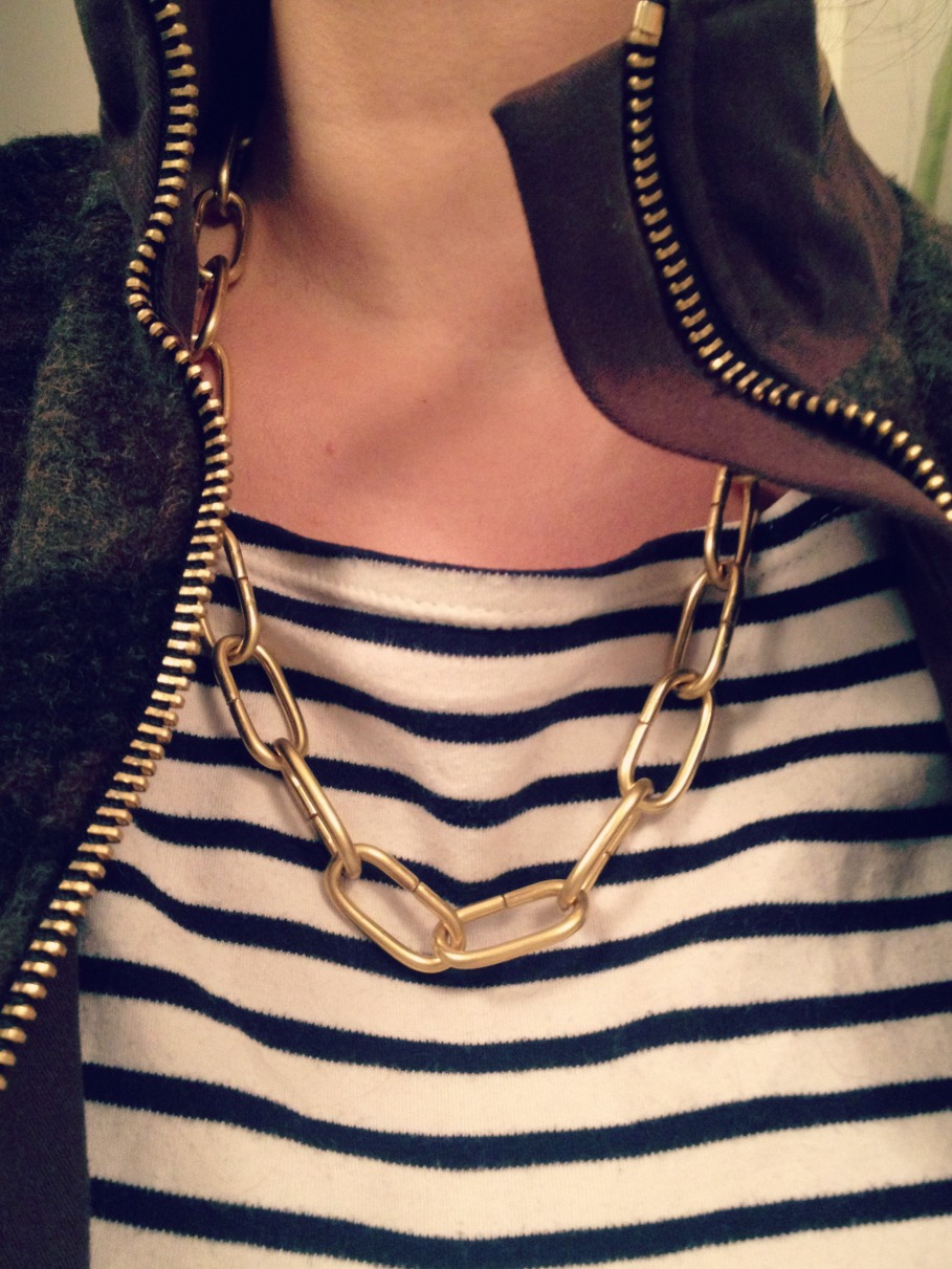 Fette goldkette  DIY Das mach ich selber! DIY Blog rund um Mode, Schmuck, Home und ...