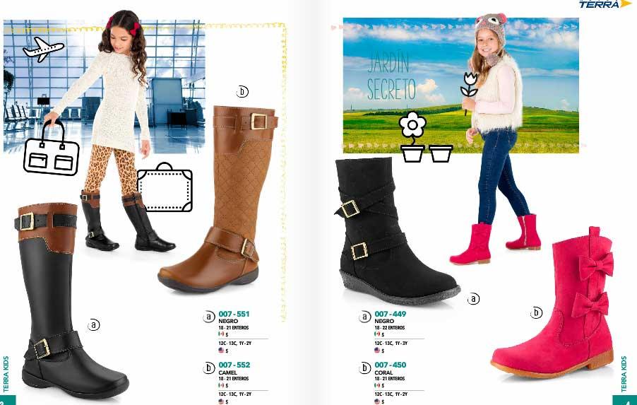 Terra kids catalogo calzado zapatos y zapatillas mexico for Catalogos terra