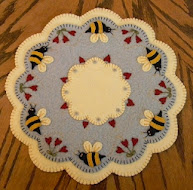 ~*Bee My Honey Bee*~Candle Mat & Coaster~