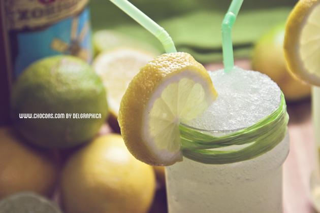 gin xoriguer y granizado limón