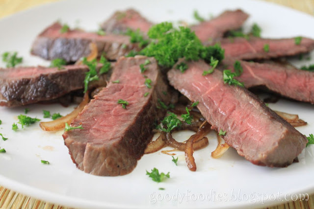 how to make beef steak recipe