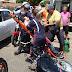 Acidente envolvendo carro e moto deixa um ferido