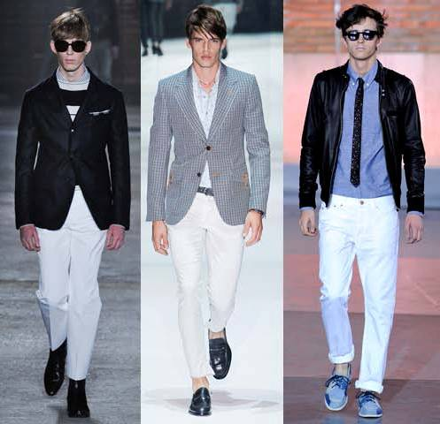 MANtoMEASURE: Summer color – WHITE: How to wear white jeans & pants