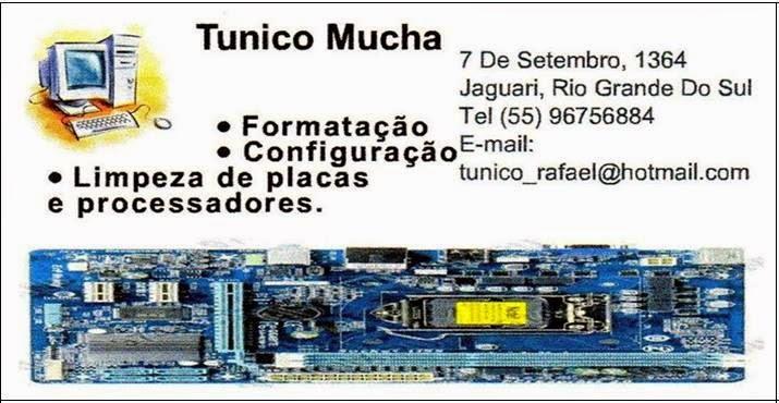 Tunico Mucha Formatação de Computadores