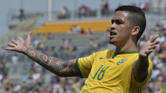 Luciano, atacante do Corinthians, foi um dos destaques na seleção no Pan