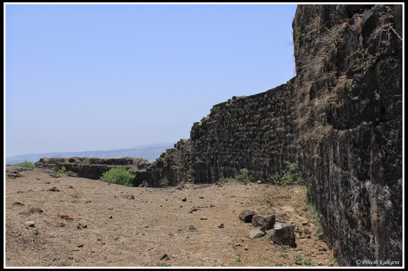 Visapur fort wall