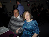 Andy and I at a party in March 2012