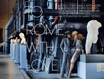 VOGUE: To Rome with love, lesbian edition