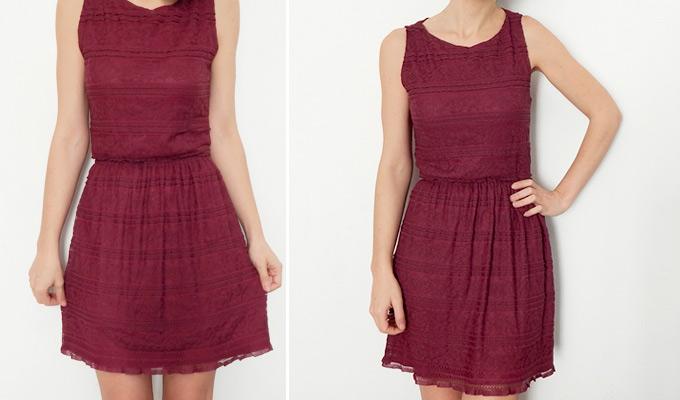 Como cortar un vestido largo en corto