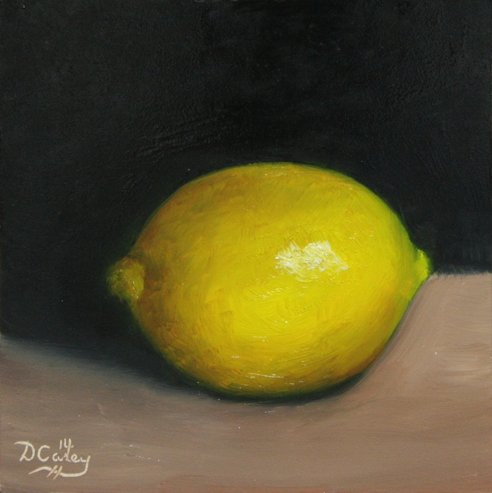 141010 - Kitchen Painting - Lemon 005a 6x6 oil on gessobord - Dave Casey - TheDailyPainter.jpg