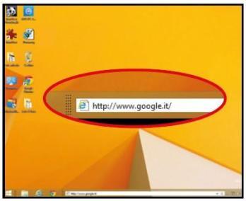 eseguire ricerche veloci sul Desktop