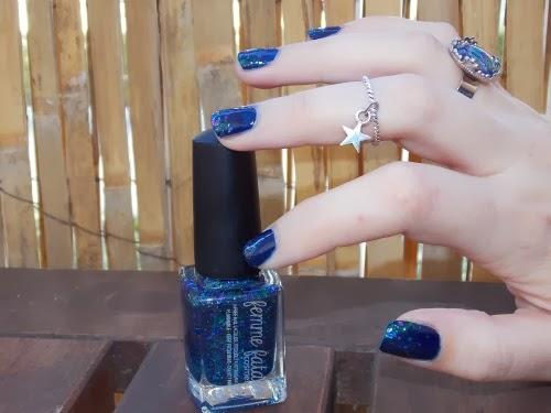 femme fatale vernis, femme fatale polish, glinting lodestone, polish blog