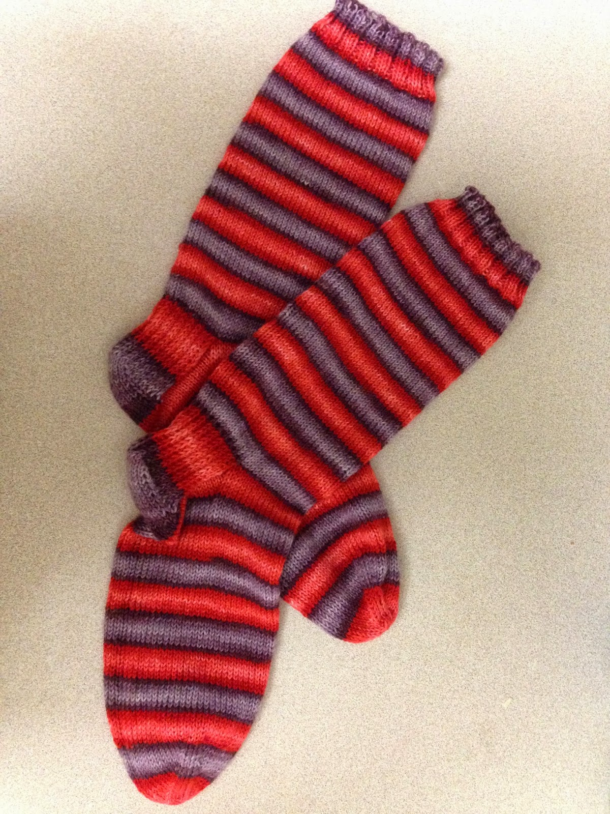 Basic Sock Knitting Pattern : The Various Areas of My Expertise: Greek Life Fraternity Socks (Dyeing instru...