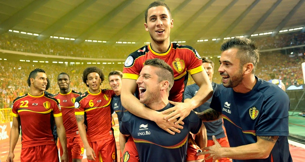 Mejor equipo selección Bélgica FIFA 15 Ultimate Team, Belgium team FUT 15