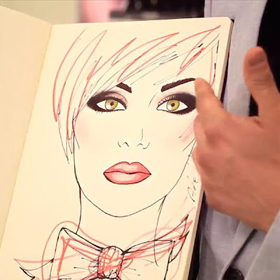 Glamorama make-up look by ALEX SANCHEZ, lancôme national make-up artist