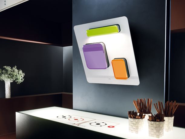 Cappa cucina design feel by elica - Cappa design ...