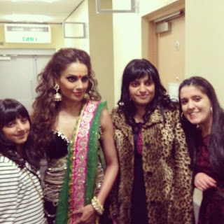Bipasha Basu spotted backstage at Bollywood Showstoppers concert
