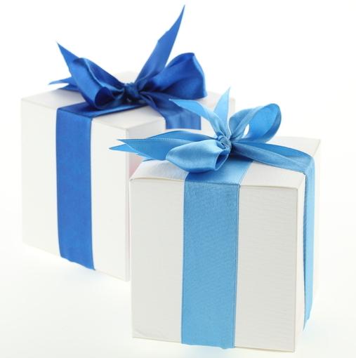 Photo de cadeaux.