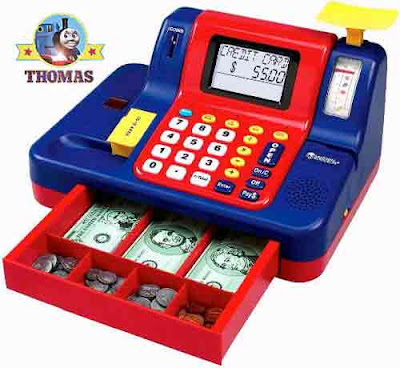 Learning Resources Teaching Cash Register till for children to play toy fake printable money games