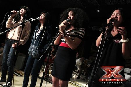 Ilusia Girls terhenti di Gala Show 4 X Factor Indonesia