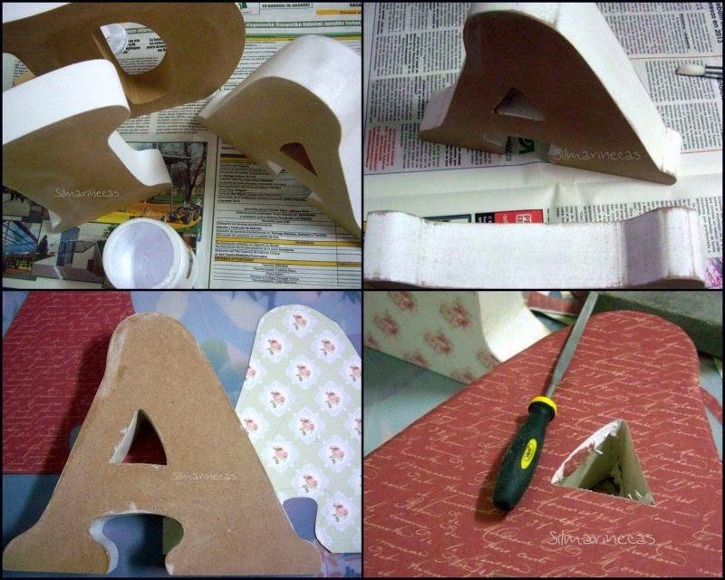 Cómo decorar letras de DM